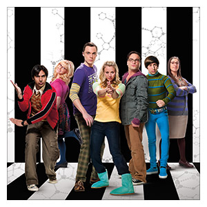 Big Bang Theory. Размер: 60 х 60 см